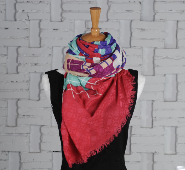 Hot Selling Factory Made Cashmere Silk scarf
