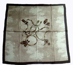 Customized Design Silk Twill Scarf