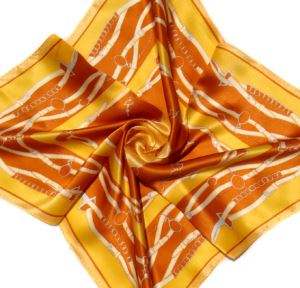 Custom Silk Satin Scarf