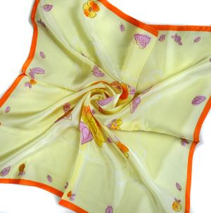 Pure Silk Satin Pocket Squares(ps-2)