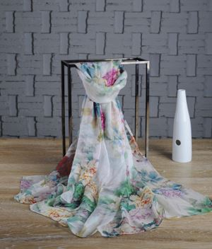Customized Printing Chiffon Scarf