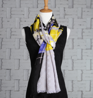 Custom Design Silk Wool Scarf