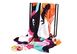 Custom Special Design Plain Silk Long Scarf