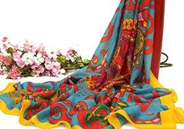 High Quality Custom Women Wool Scarf Printing Pashmina Wool Scarf