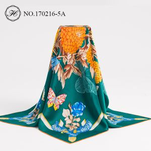 Custom Digital Print Silk Scarves Supplier