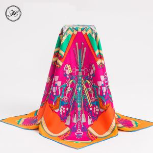 Digital Print Silk Hijab